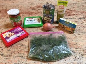 Coconut Curry Ginger Sauce Ingredients