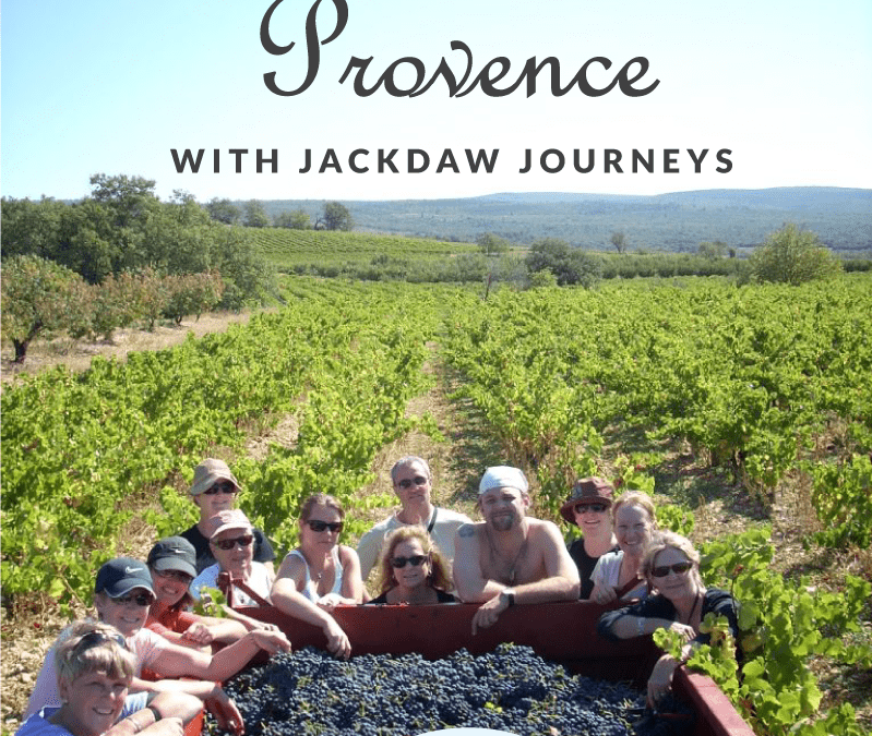 Discover Provence with Jackdaw Journeys!